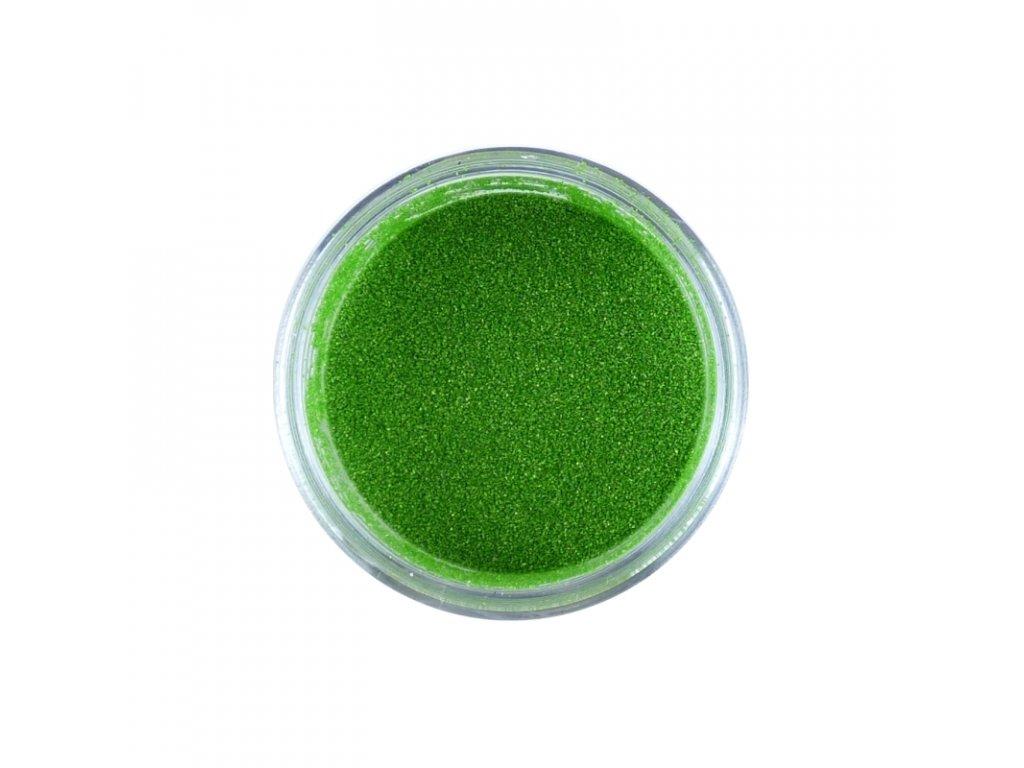 Prášek na embosing perleťový Zelený