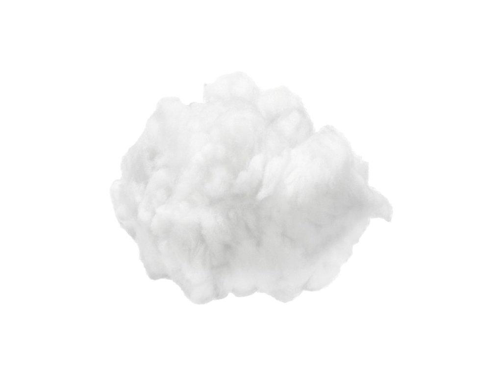 Vatová výplň bílá 1kg