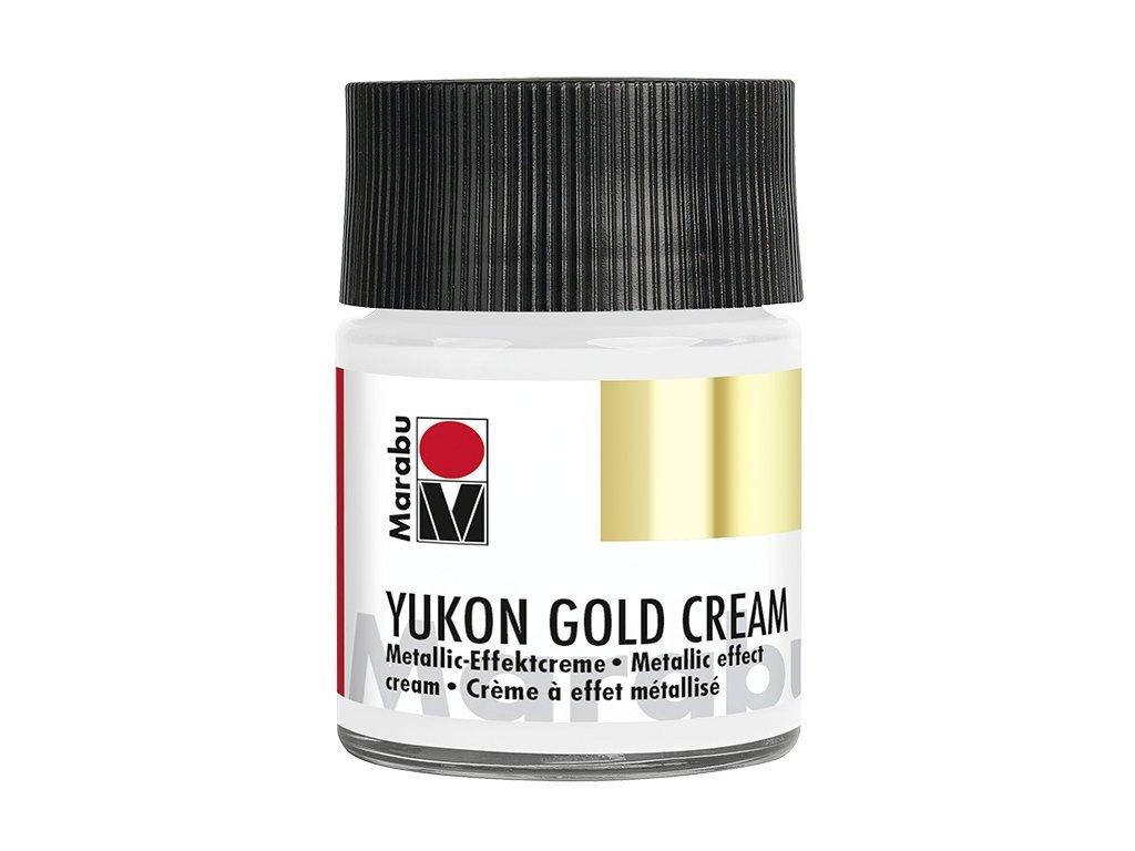 YUKON GOLD CREAM metalický stříbrný