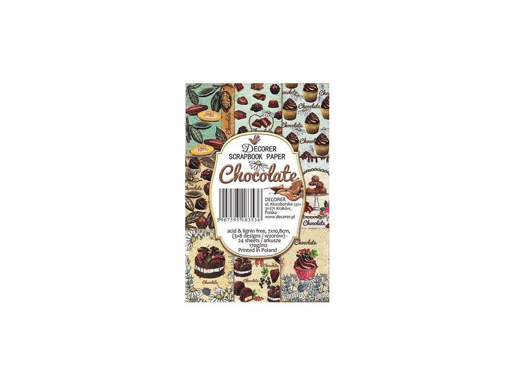 Sada papírů Chocolate