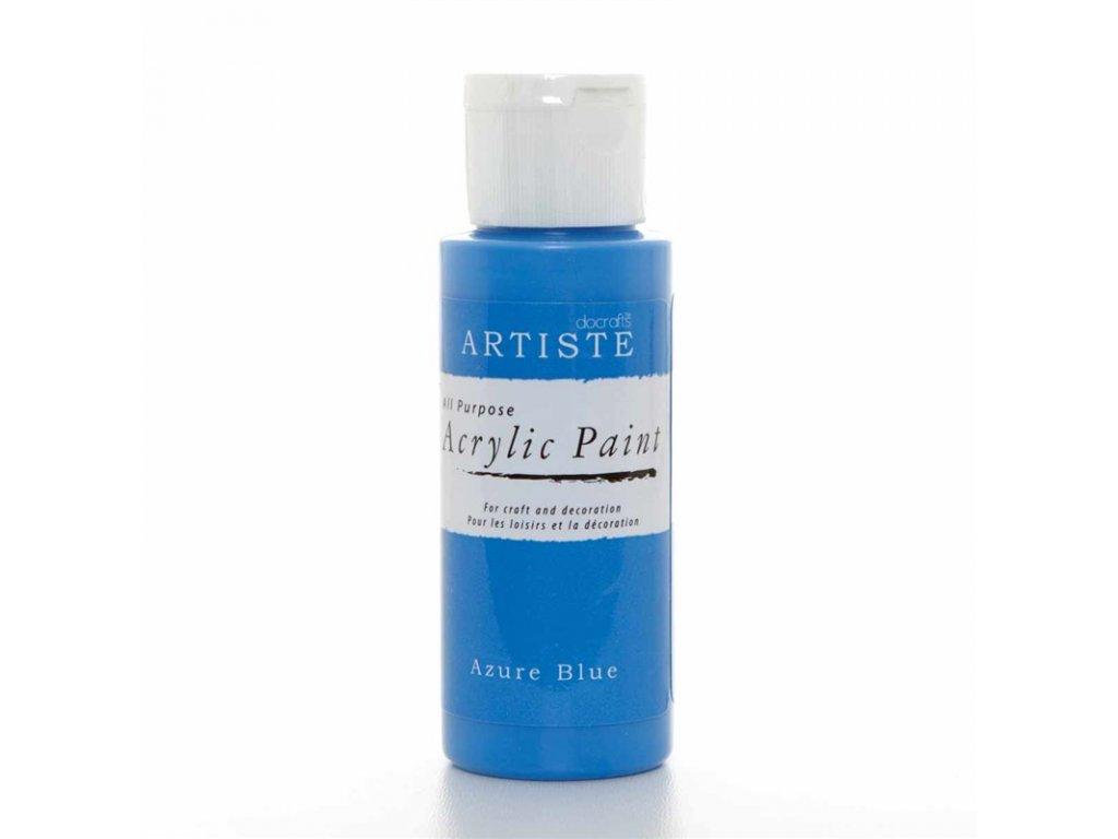 Akrylová barva ARTISTE - azurová modrá