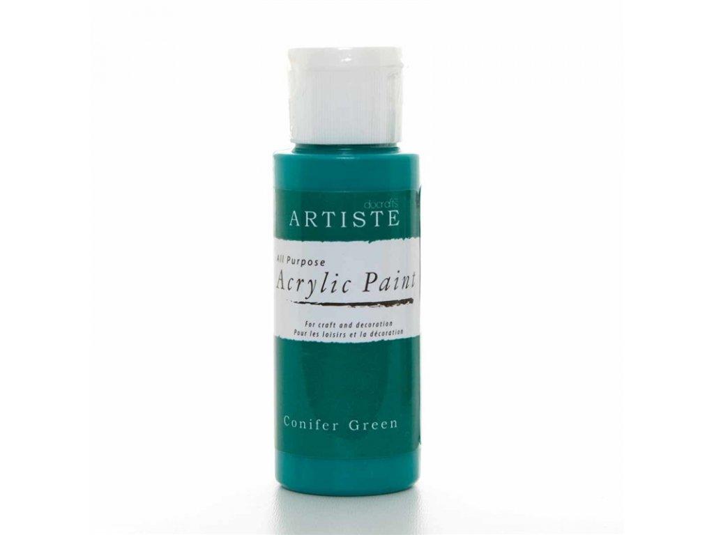 Akrylová barva ARTISTE - mechová