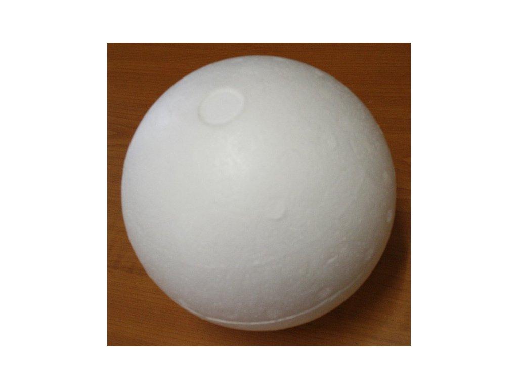 Koule polystyrenová 15cm dva díly