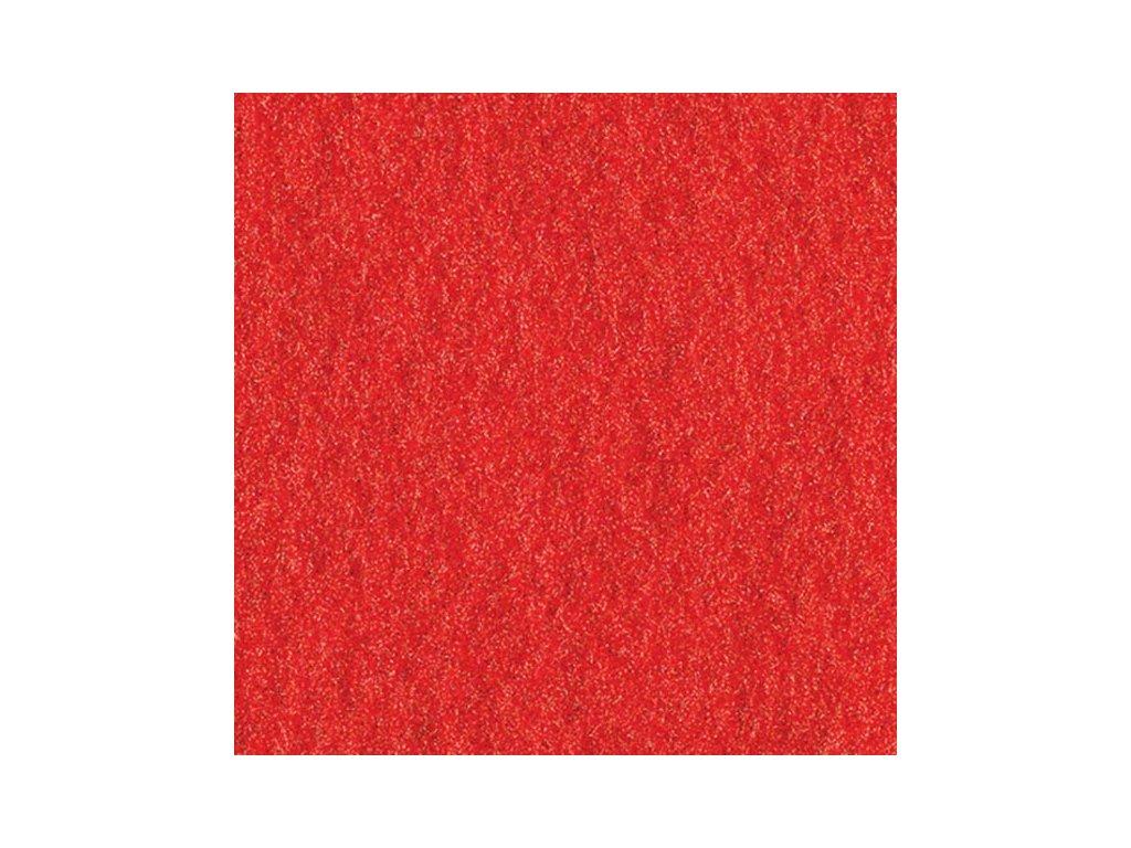Filc 2mm, 20x30cm červený