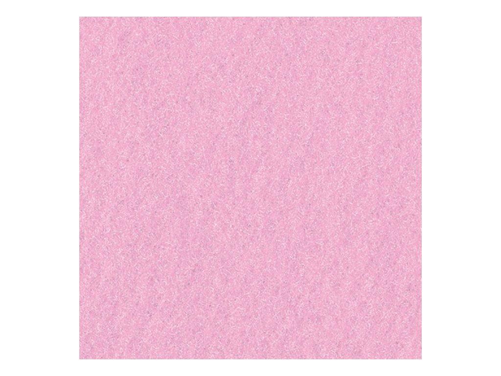 Filc 2mm, 20x30cm růžový