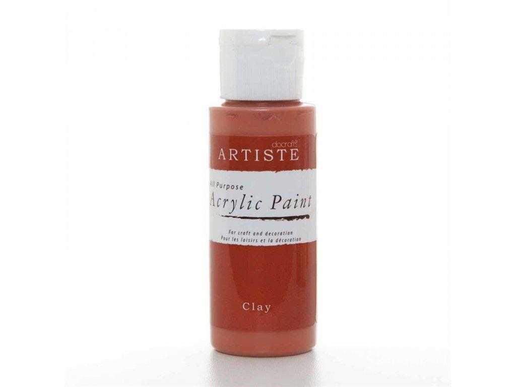 Akrylová barva ARTISTE - světle hnědá