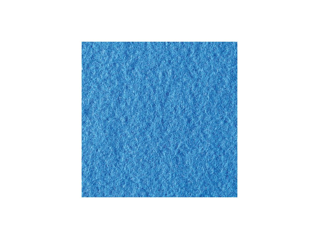 Filc 2mm, 20x30cm světle modrý