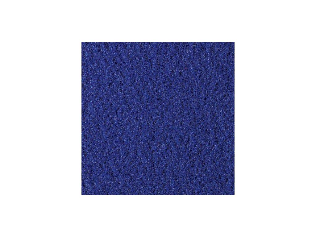Filc 2mm, 20x30cm královsky modrý