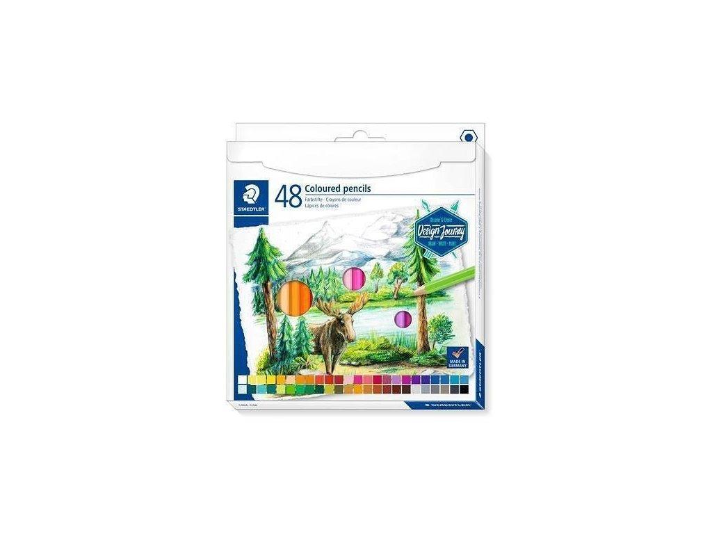 RE 052235 pastelky STAEDTLER 48 barev
