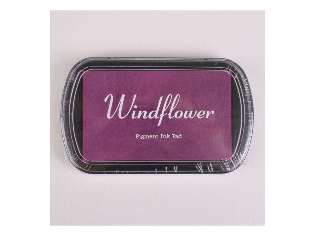 Razítkovací polštářek Windflower Světle fialový