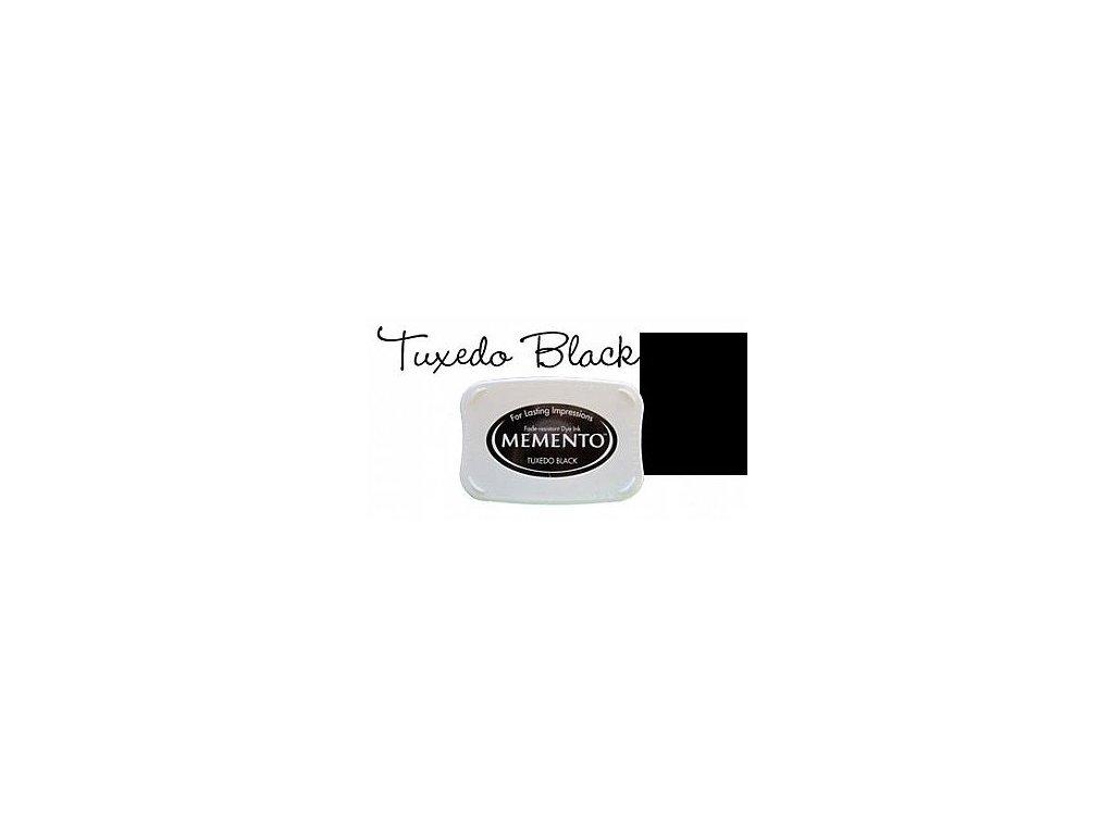 Razítkovací polštářek Memento černý velký