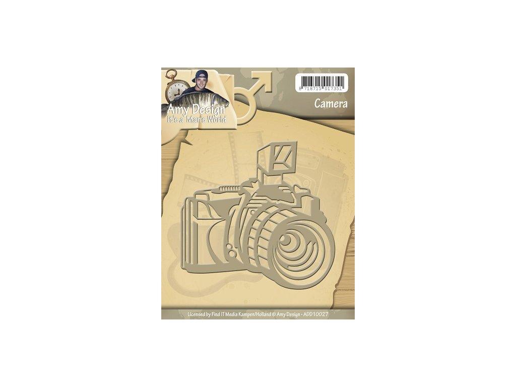 Šablona vyřezávací - Fotoaparát