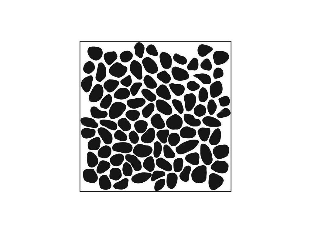 Šablona Pebbles