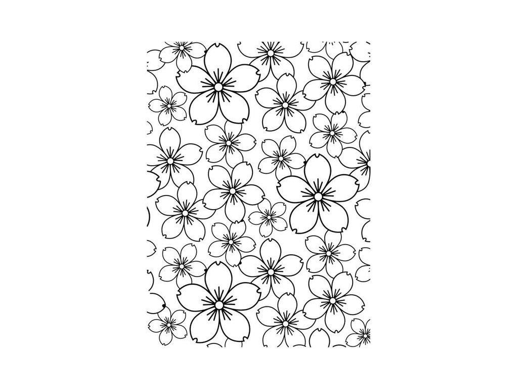 Embosovací kapsa Třešňové květy