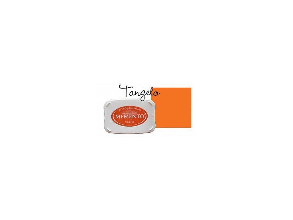 Razítkovací polštářek Memento grapefruit oranžový velký