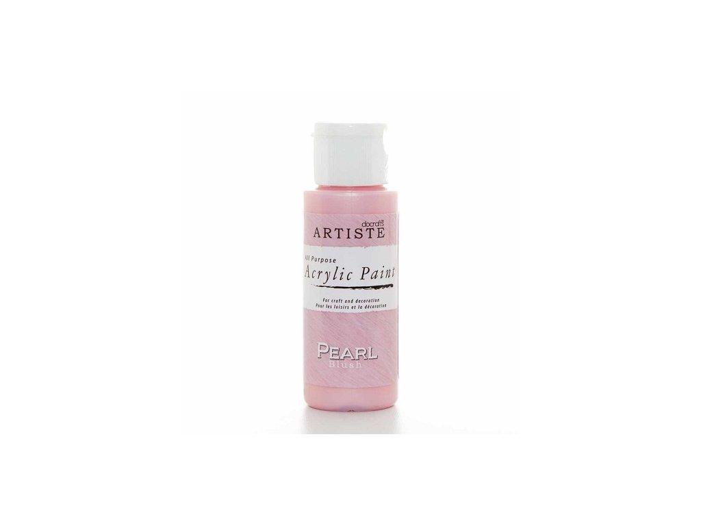 Akrylová barva perleťová - PEARL BLUSH