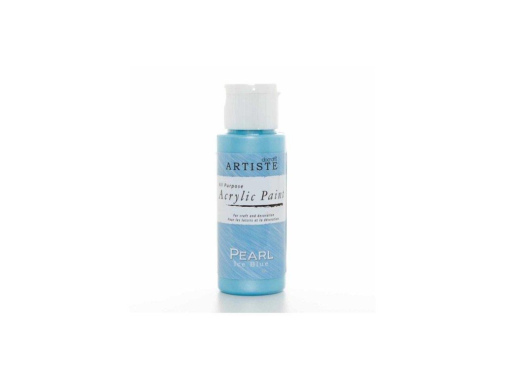 Akrylová barva perleťová - PEARL ICE BLUE