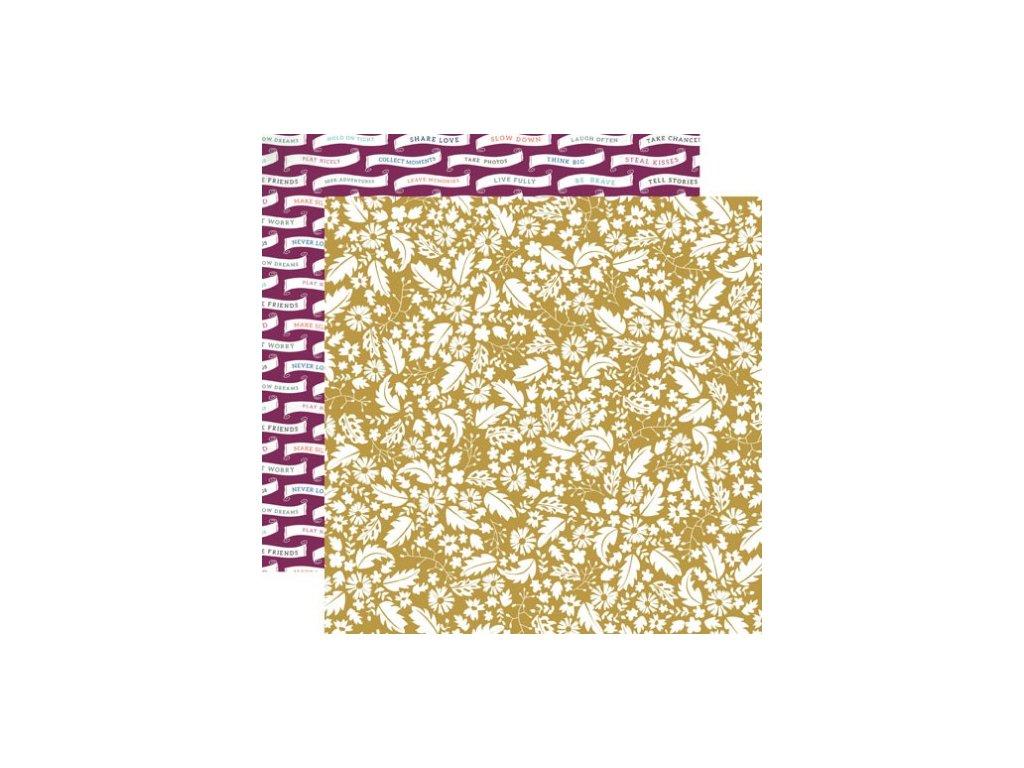 Oboustranný papír Golden Sheet