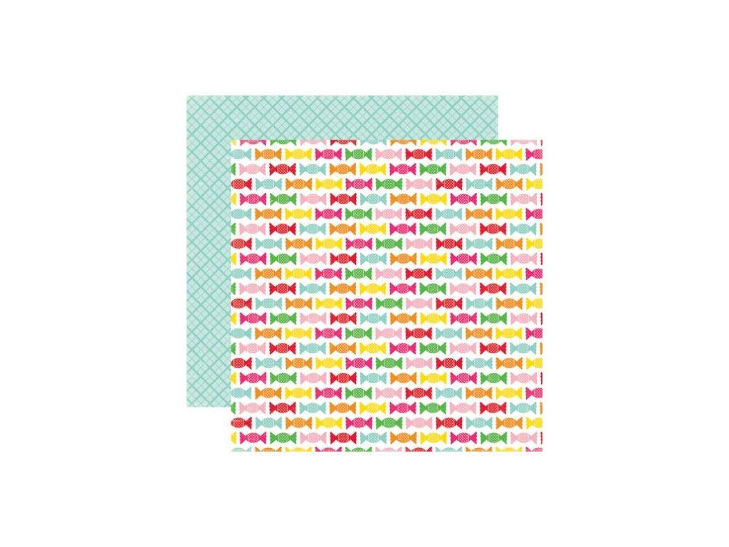 Oboustranný papír Candy Sweets Sheet