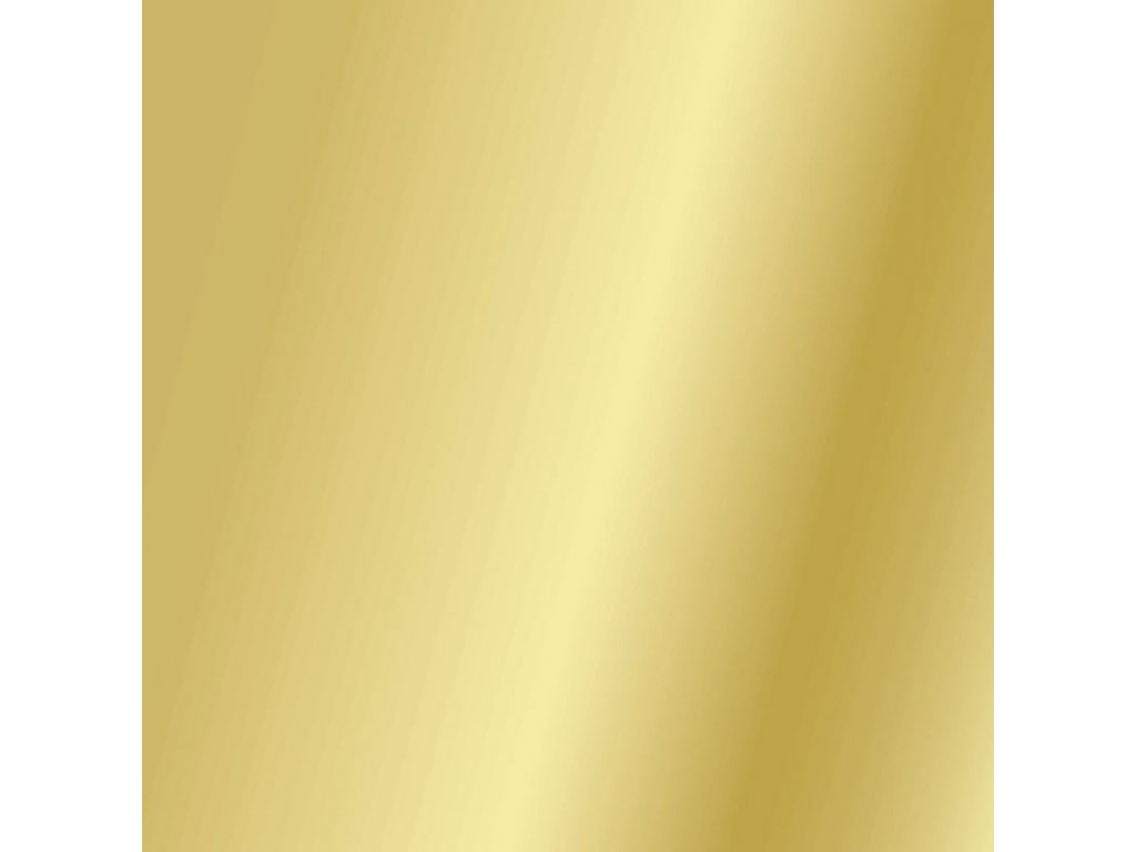 Barevný papír zlatý lesklý