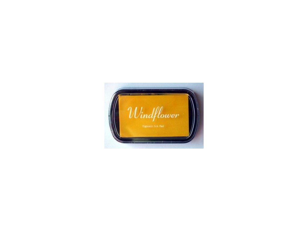 Razítkovací polštářek Windflower Žlutý