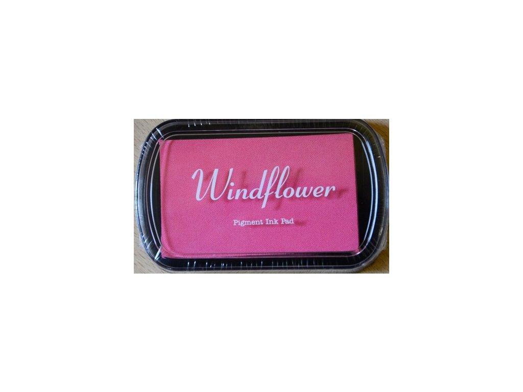 Razítkovací polštářek Windflower Světle růžový