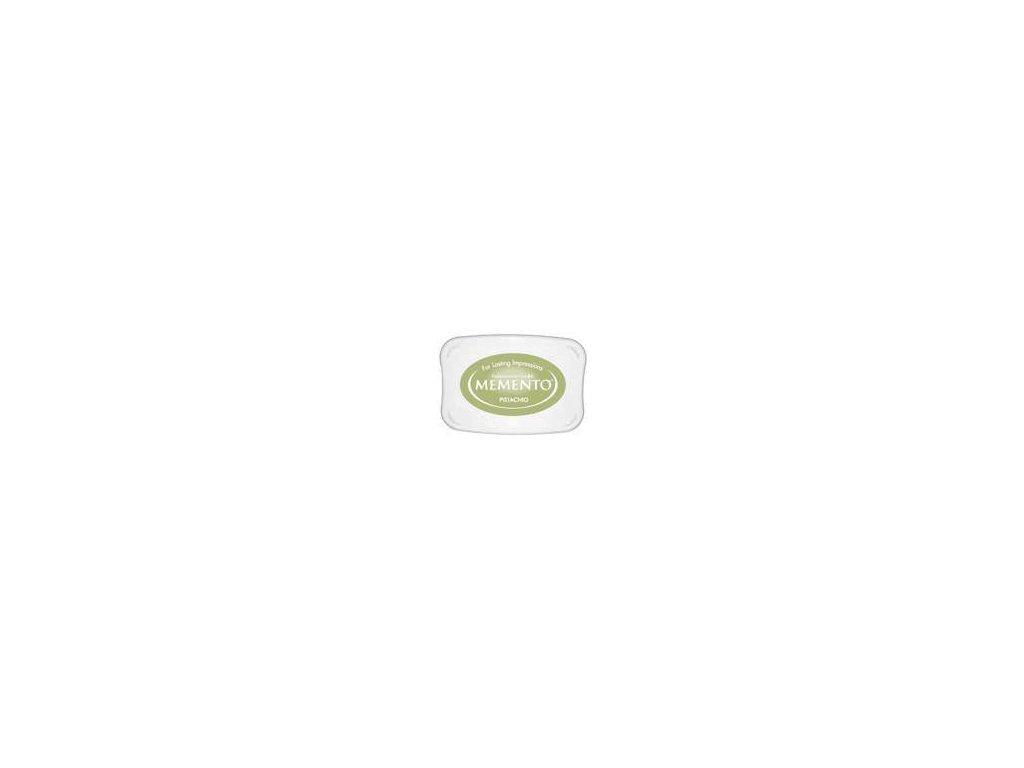 Razítkovací polštářek Memento pistáciově zelený velký
