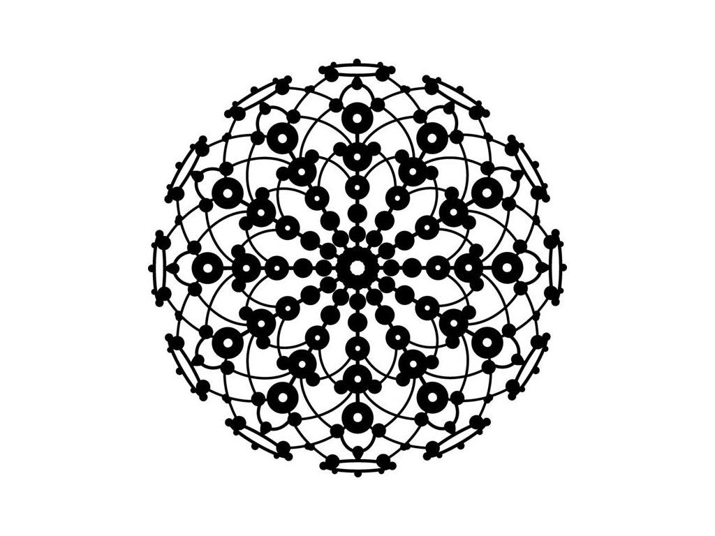 Šablona 30x30 Mandala