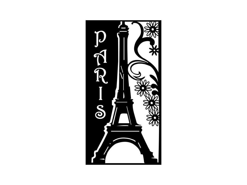 Šablona DIN A4  Paříž
