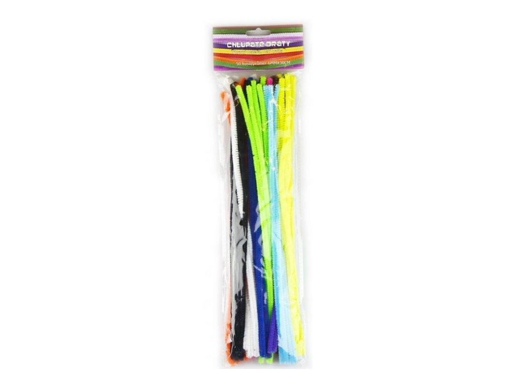 Chlupaté dráty mix barev