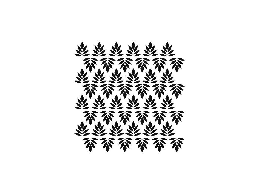 Šablona Indian Leaves