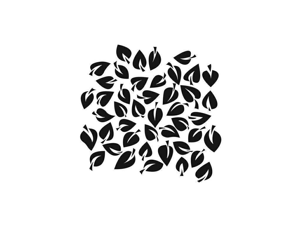 Šablona Dancing Leaves