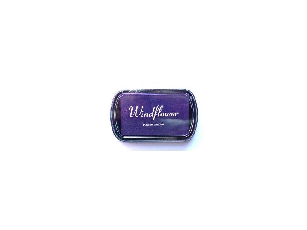 Razítkovací polštářek Windflower Tmavě fialový