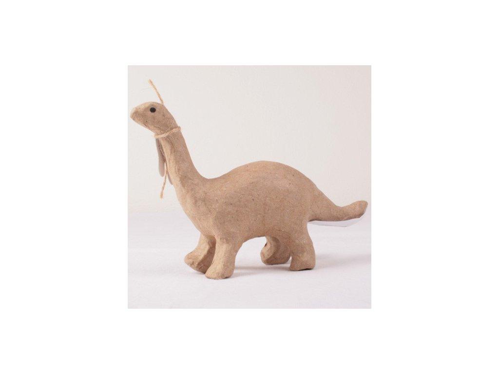 Kartonový předmět brontosaurus