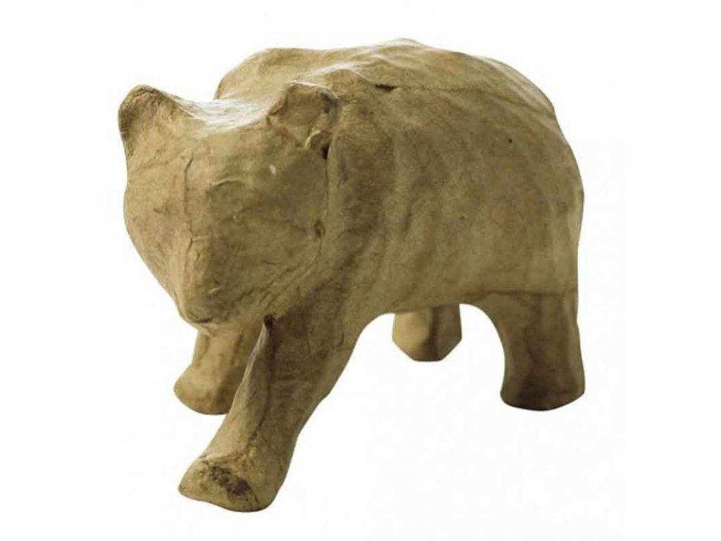 Kartonový předmět panda