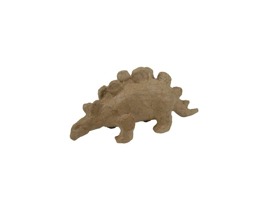 Kartonový předmět Stegosaurus