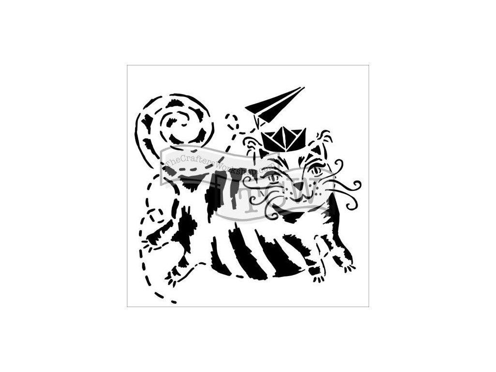 Šablona Letící kočka