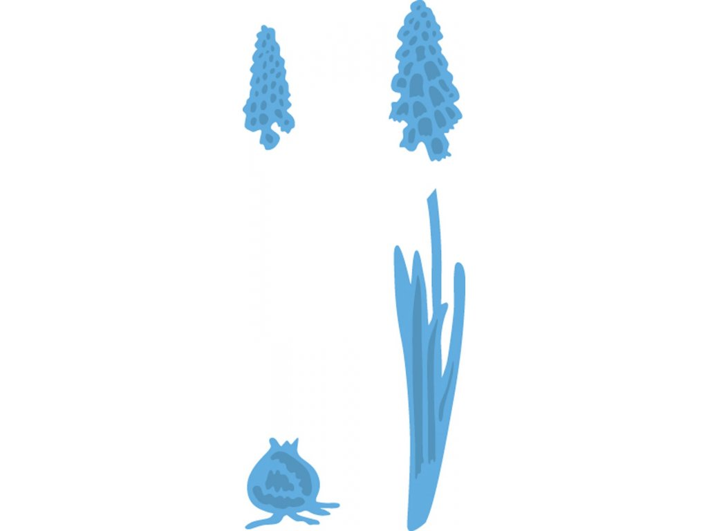 Šablona Creatables Hyacint