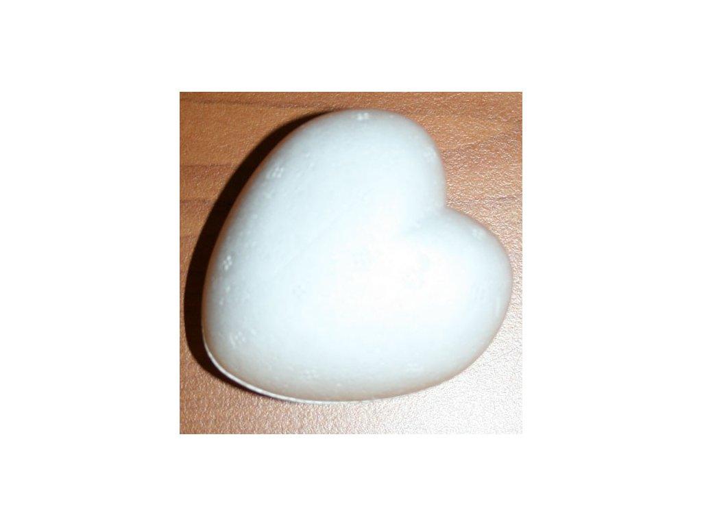 Srdce z polystyrenu 8cm
