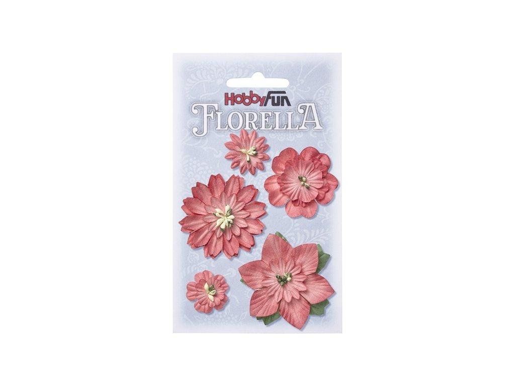 Papírové květy FLORELLA - hortensie
