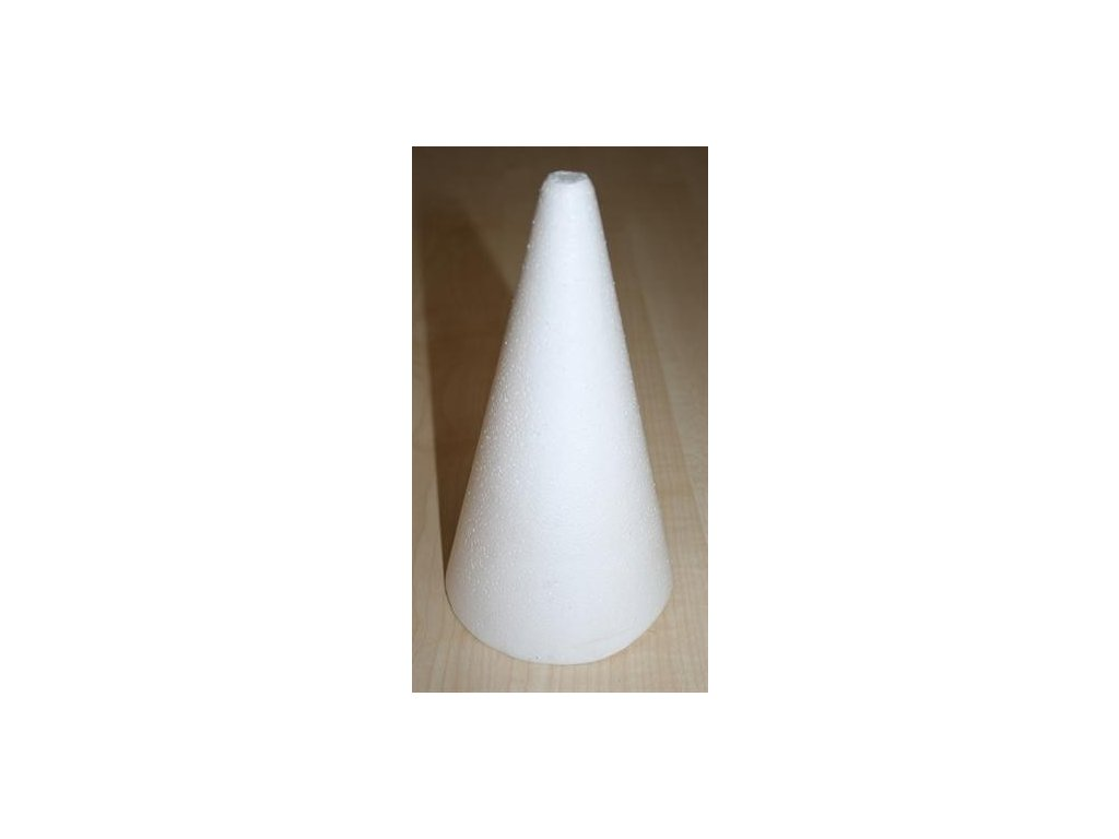 Kužel polystyrenový 20 cm