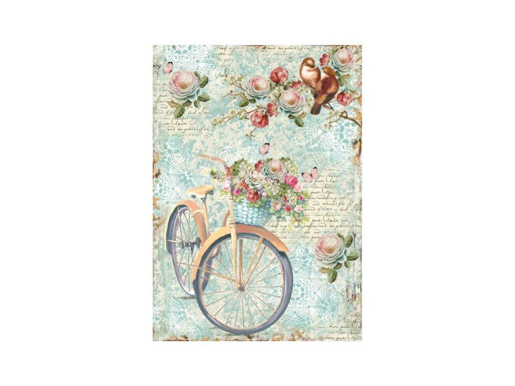 Rýžový papír Kolo a květiny
