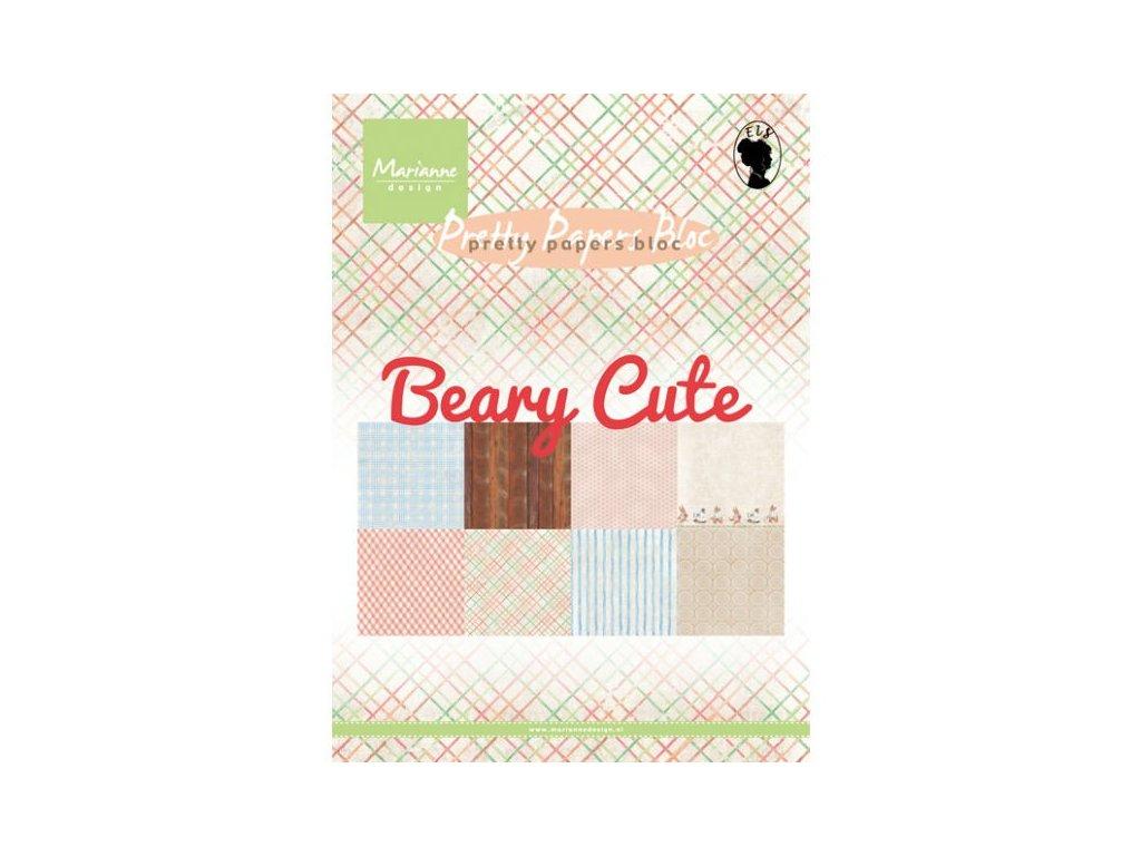 Sada papírů A5 Beary cute