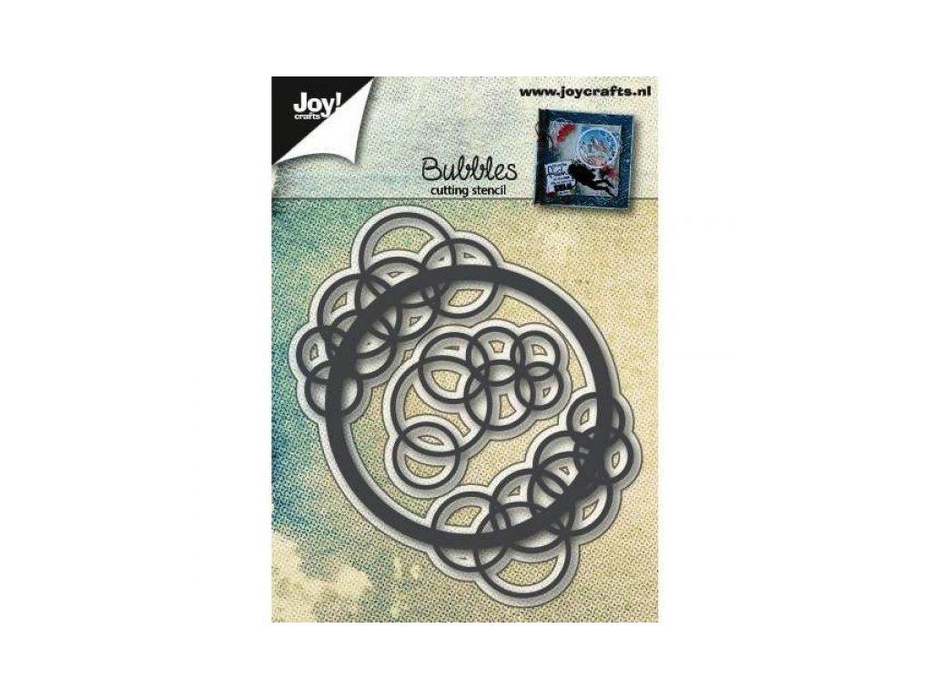 Bubliny a kruh vyřezávací kovové šablony