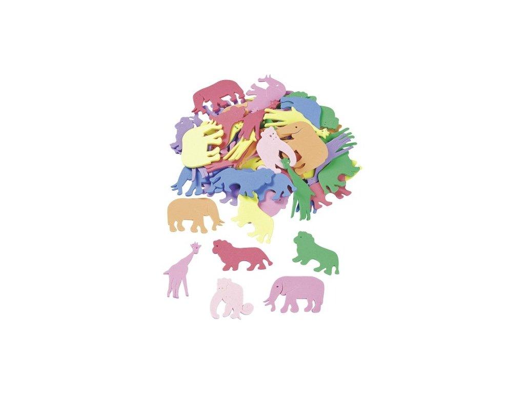 Výřezy z pěnovky Zvířátka