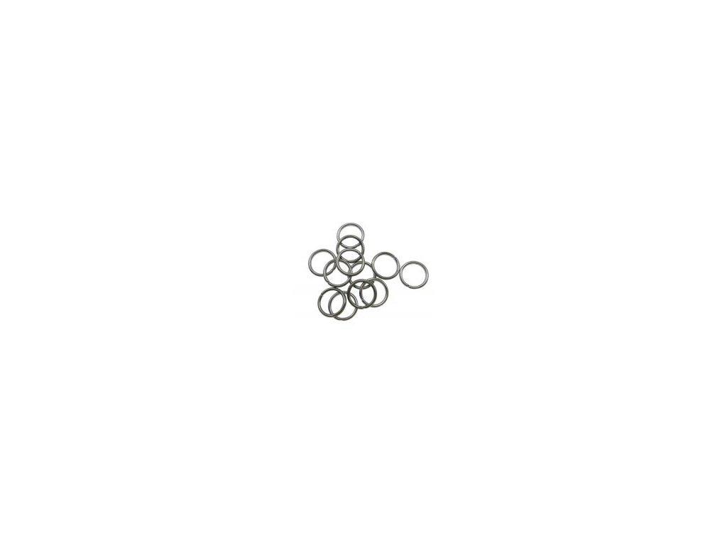 Kroužek pérový 6x1mm, hematit
