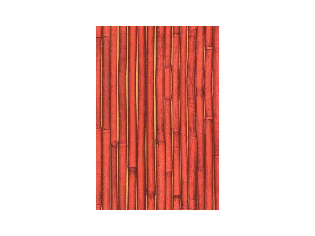 Papír na decoupage Červený bambus