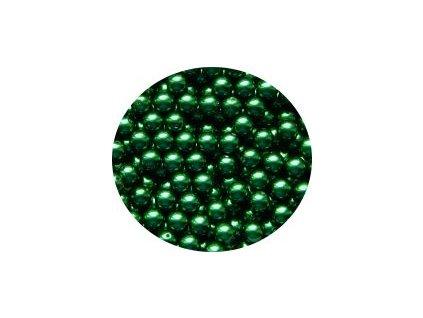 Voskové perle 10 mm zelené