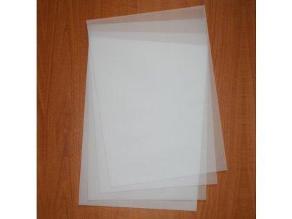 Transparentní papír na pergamenové techniky a embosování 85g