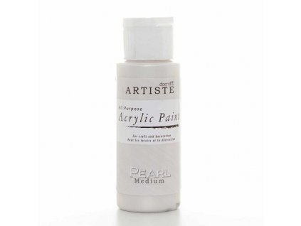 Akrylová barva perleťová - Pearl Medium